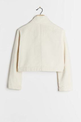 Short Casual Style Plain Party Style Bridal Jackets