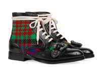 GUCCI GUCCI Queercore brogue boots #483956
