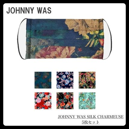 Johnny was More Accessories Flower Patterns Tropical Patterns Casual Style Unisex