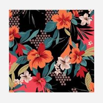 Johnny was More Accessories Flower Patterns Tropical Patterns Casual Style Unisex 8
