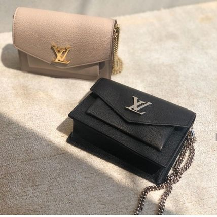 Louis Vuitton LOCKME Mini Mylockme Chain Pochette