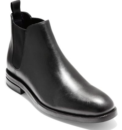Cole Haan Plain Leather Chelsea Boots Chelsea Boots