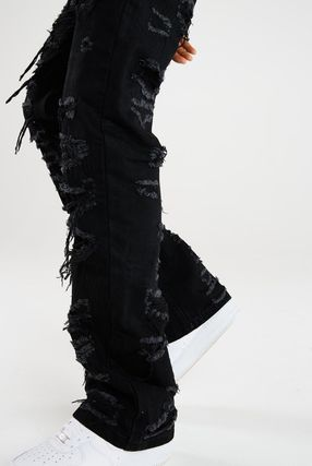 JADED LONDON Denim Street Style Cotton Jeans