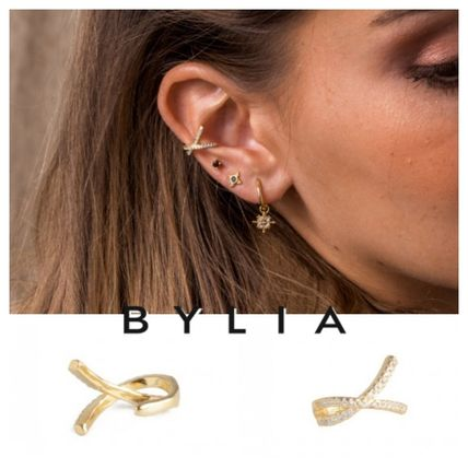 Casual Style Party Style Silver 18K Gold Elegant Style