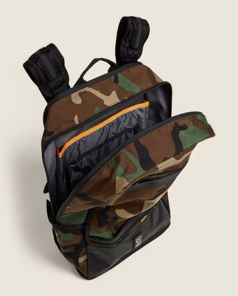 Camouflage Plain Logo Backpacks