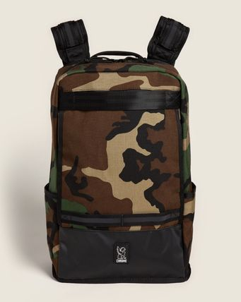 CHROME Backpacks Camouflage Plain Logo Backpacks 3