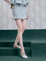 Sister Jane Short Other Plaid Patterns Tweed Mini Skirts