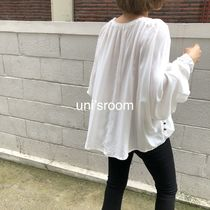 Dolman Sleeves Plain Medium Oversized Elegant Style