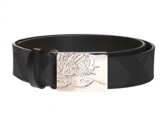 Burberry BURBERRY London Check Leather Belt  #8006053