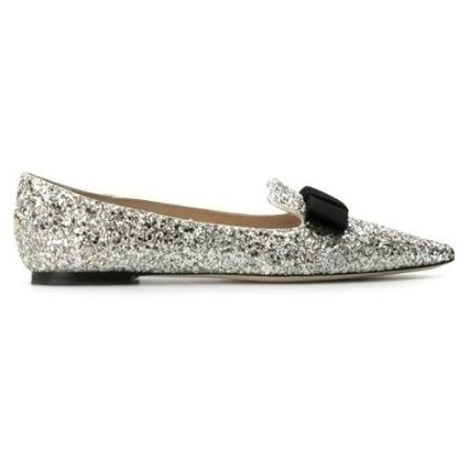 Jimmy Choo Platform Casual Style Leather Party Style PVC Clothing