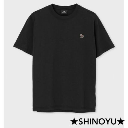 Paul Smith Crew Neck Street Style Short Sleeves Logo Crew Neck T-Shirts