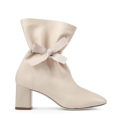Casual Style Plain Leather Block Heels Party Style