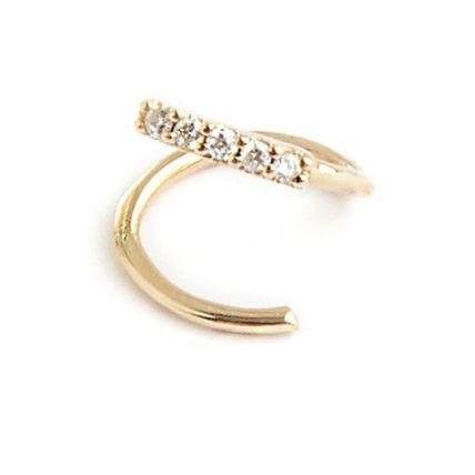 Casual Style 18K Gold Office Style Formal Style  Fine