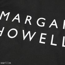 MARGARET HOWELL Totes Unisex Street Style A4 Plain Logo Totes 5