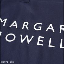 MARGARET HOWELL Totes Unisex Street Style A4 Plain Logo Totes 8