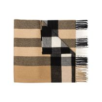 Burberry Unisex Knit & Fur Scarves