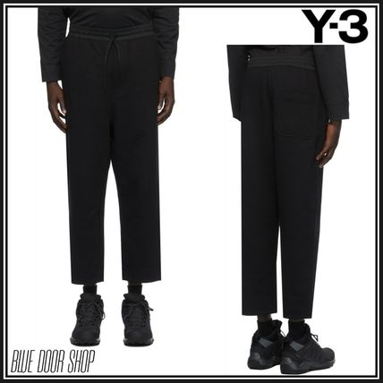 Y-3 Street Style Plain Cropped Pants