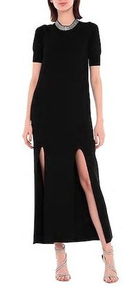 Casual Style Tight Maxi Suede Sleeveless Plain Long
