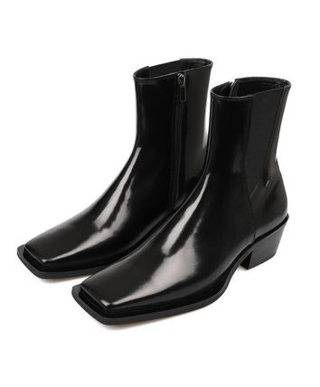 HUMANT Leather Street Style Boots