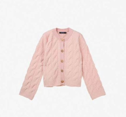 SJYP Short Casual Style Plain Outerwear
