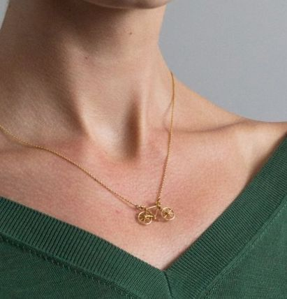 Casual Style Animal Flower Silver 22K Gold Office Style