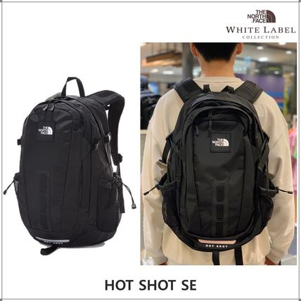 THE NORTH FACE WHITE LABEL Unisex A4 Logo Backpacks