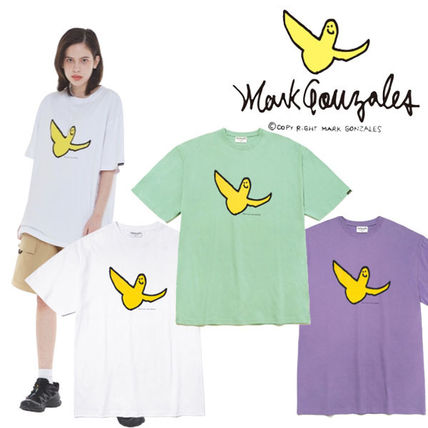 Mark Gonzales Street Style Cotton Logo T-Shirts
