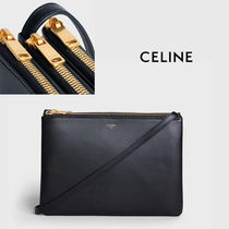 CELINE Casual Style Calfskin Street Style Party Style Office Style