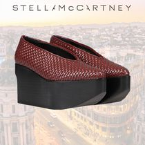 Stella McCartney Rubber Sole Casual Style Plain Leather Oversized