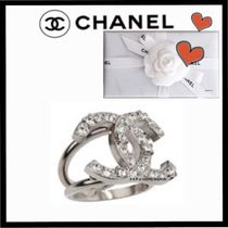 CHANEL ICON Costume Jewelry Party Style Rings