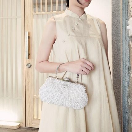 Plain Party Style Elegant Style Formal Style  Clutches