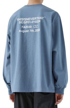 thisisneverthat More T-Shirts Unisex Street Style T-Shirts 3