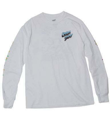 Crew Neck Pullovers U-Neck Long Sleeves Plain