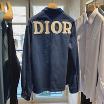 Christian Dior Overshirt With 'Dior 1947' Embroidery