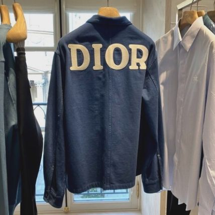 Christian Dior Shirts Overshirt With 'Dior 1947' Embroidery 2