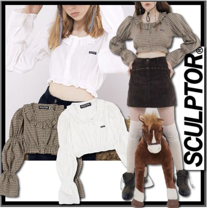 SCULPTOR Casual Style Street Style Shirts & Blouses
