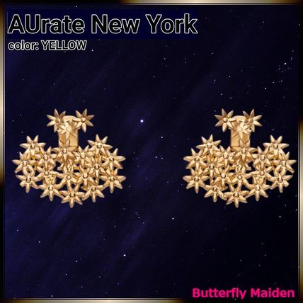 Casual Style Flower Street Style Party Style Silver 14K Gold