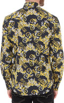 VERSACE Shirts Street Style Long Sleeves Cotton Front Button Luxury Shirts 7
