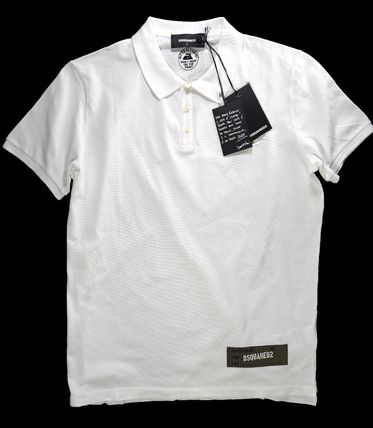 D SQUARED2 Short Sleeves Luxury Polos