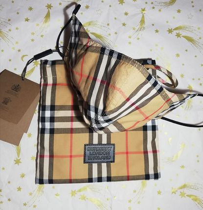 Burberry Other Plaid Patterns Unisex Accessories