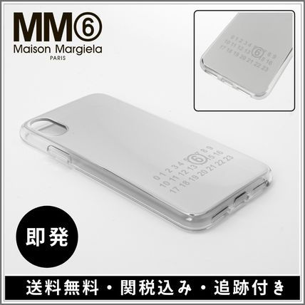 Monogram Unisex Plain iPhone X iPhone XS Logo