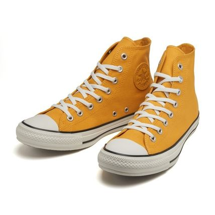 Star Casual Style Unisex Suede Street Style Logo