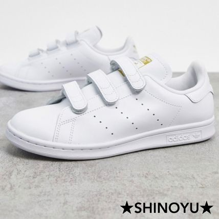 adidas STAN SMITH Unisex Logo Low-Top Sneakers