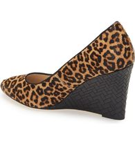 Cole Haan Leopard Patterns Plain Toe Spawn Skin Elegant Style