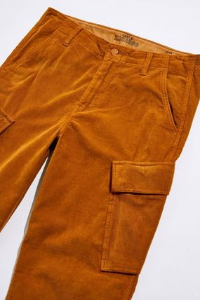 Levi's Tapered Pants Corduroy Street Style Plain Tapered Pants