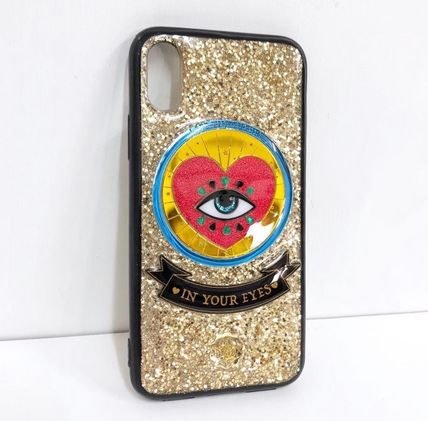 Heart Star Silicon Handmade Glitter iPhone 8 iPhone 8 Plus