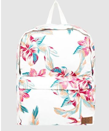 ROXY Flower Patterns Tropical Patterns Casual Style Street Style