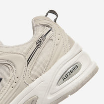 New Balance Low-Top Unisex Street Style Plain Logo Low-Top Sneakers 9
