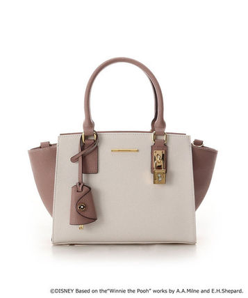 Collaboration Other Animal Patterns Leather Logo Handbags