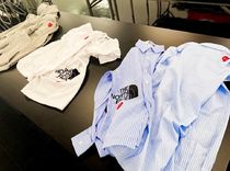 COMME des GARCONS Shirts Collaboration Long Sleeves Logo Designers Shirts 7
